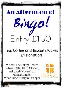 Bingo leaflet